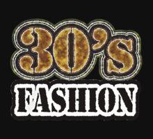 Vintage 30's Fashion - T-Shirt by Nhan Ngo