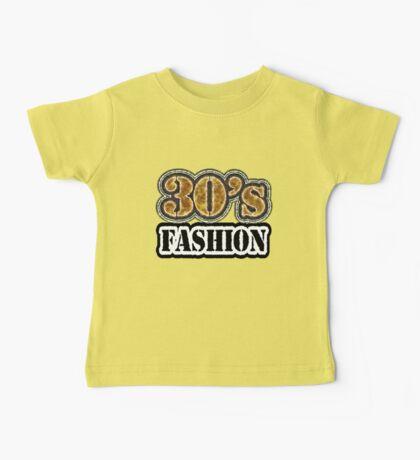 Vintage 30's Fashion - T-Shirt Baby Tee