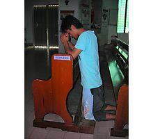 Praying - Joan Photographic Print
