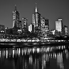 Melbourne CBD by HPG  Images
