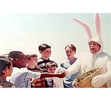 Chris Farley Easter Bunny Black Sheep Photo Photographic Print