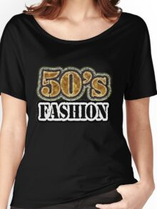 Vintage 50's Fashion - T-Shirt Women's Relaxed Fit T-Shirt