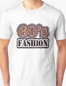 Vintage 60's Fashion - T-Shirt Unisex T-Shirt