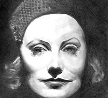 Greta Garbo by daamsie