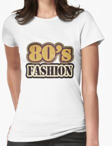 Vintage 80's Fashion - T-Shirt Womens Fitted T-Shirt