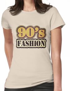 Vintage 90's Fashion - T-Shirt Womens Fitted T-Shirt