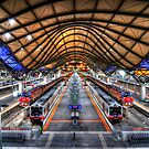 Southern Cross Station by Alex Stojan