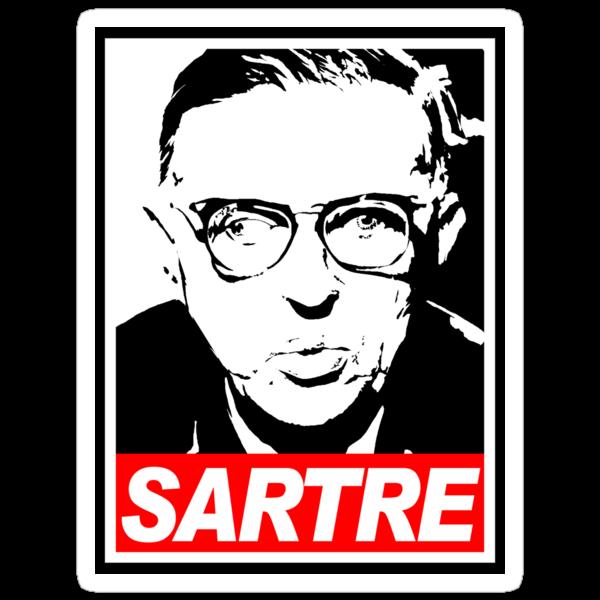 Jean-Paul Sartre by JOEL AMAT GÜELL