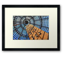 Melbourne Central Framed Print