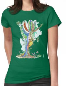 Tree of Life #18 Womens Fitted T-Shirt