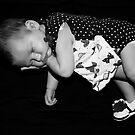 Fast Asleep B&W Version by JimMcleod