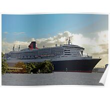 Queen Mary 2 Poster