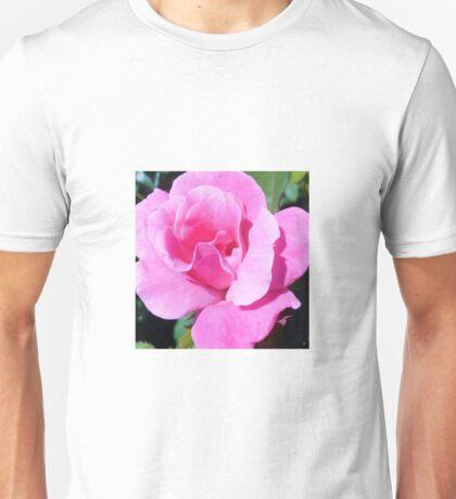 A Single Pink Rose Unisex T-Shirt