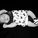 Australian Made Baby B&W  by JimMcleod