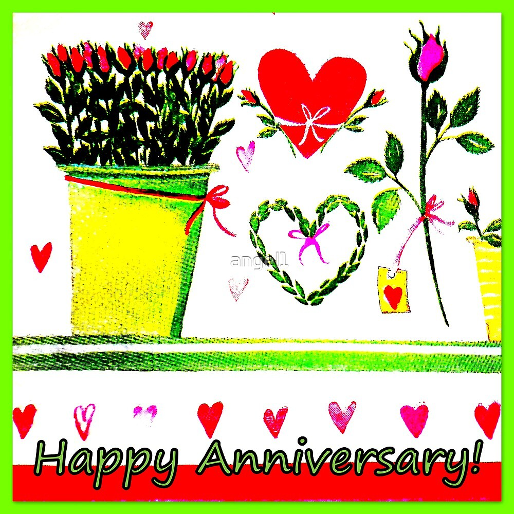 Happy Anniversary! by ©The Creative  Minds