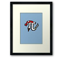 Pi Pirate Framed Print
