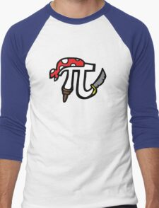 Pi Pirate Men's Baseball ¾ T-Shirt