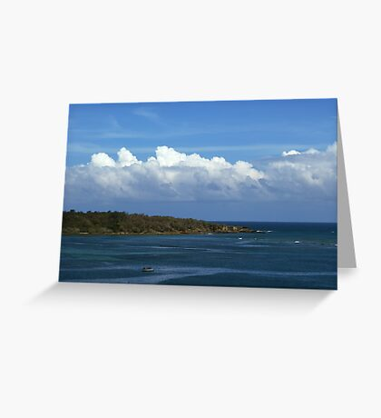 Rolling On Greeting Card