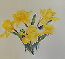 Daffodils           106 by Nora Mackin