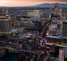 Las Vegas Sunset by Paul Barnett