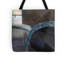 Pouring From The Bench.. Tote Bag