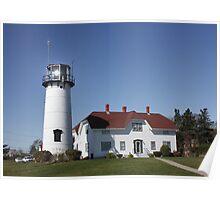 Nobska Lighthouse,  Cape Cod, Massachucetts, USA .... Poster