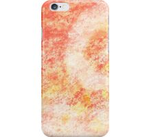 Pink Swirl Abstract Painting iPhone Case/Skin