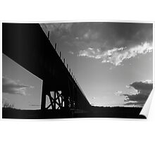 Trestle at Sunset Poster