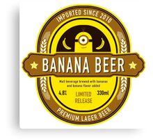 Banana Drink Canvas Print