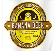 Banana Drink Poster
