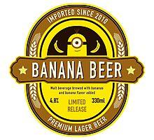 Banana Drink Photographic Print