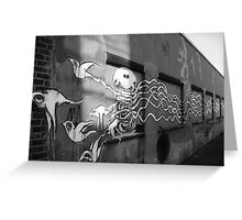 Doves And Aliens Greeting Card