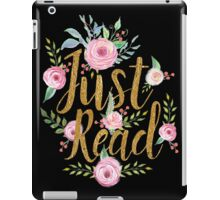 Just Read iPad Case/Skin