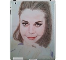 Natalie Relaxing iPad Case/Skin