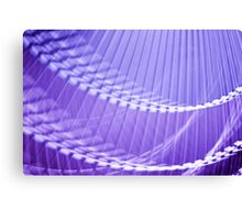 Purple Abstract Wall Art Canvas Print