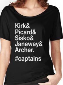 Hashtag Captains Women's Relaxed Fit T-Shirt