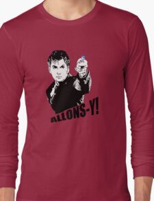 allons-y! Long Sleeve T-Shirt