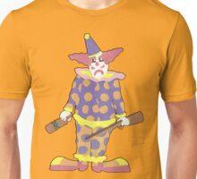 Solitary Clown Unisex T-Shirt