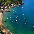 Yelapa Bay by Aaron  Cromer