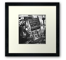 The Cabinet Makers Factory. Framed Print