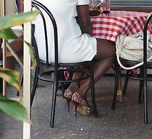 bling bling high heels by annet goetheer