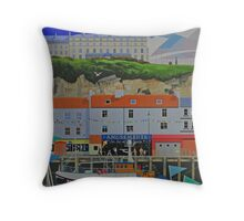 Aspects of Whitby Throw Pillow