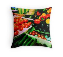Market 1 Throw Pillow