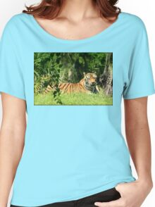 Majestic Tiger Women's Relaxed Fit T-Shirt