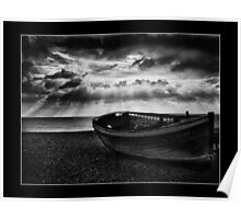 Boat on Brighton Beach Poster