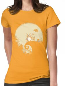 Neighbour Before Christmas - Totoro Womens Fitted T-Shirt