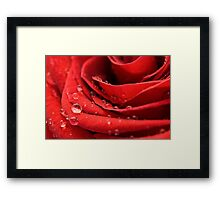 Magical Droplets Framed Print