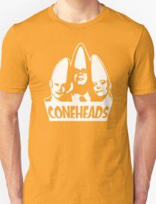 Coneheads   Eierkopf Retro Kult Serie Lustig Dickkopf Glatze T-Shirt