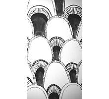Grey-Scale Photographic Print