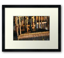 The mellow yellow Framed Print